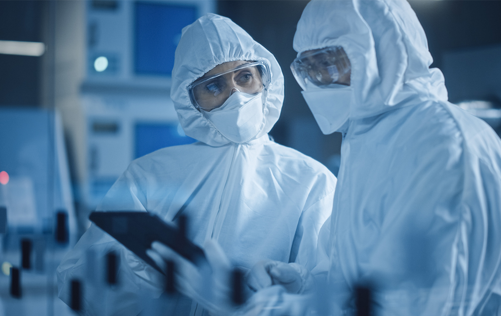 Working with Connect2Cleanrooms to expand our cleanroom capacity